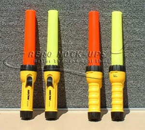 31-8-1 & 31-8-2  Traffic Wands, red & yellow