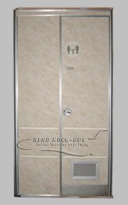14-28 Door and wall - Lavatory