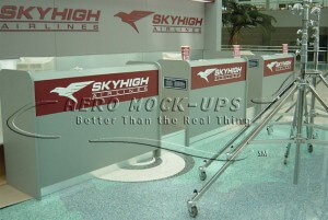 Ticket Counter - Skyhigh