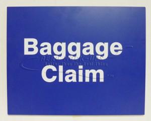 Sign - Baggage Claim