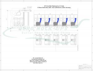 Roll - 20 OSS - Stbd + Aisle + 5 x Biz - drawing