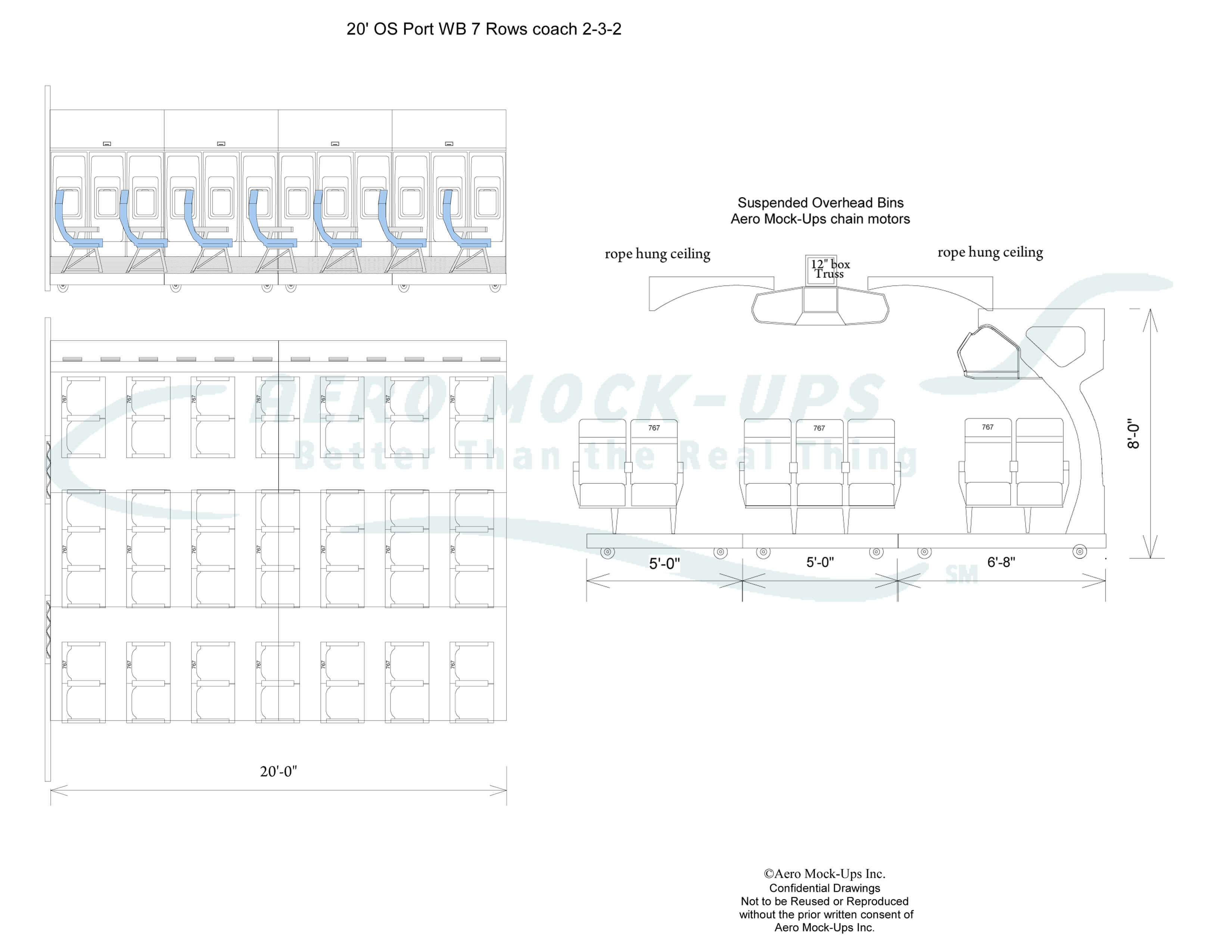 Aero mock ups aviation sets prop rentals set up guide aero roll 20 osp wb 7 x 2 3 2 wc with wb ccuart Gallery