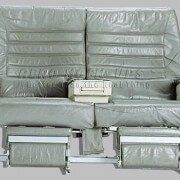 23-2-2LR-1 FC - AA Taupe leather