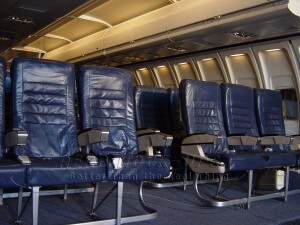 "21-3 CC, 737 - Triple, Blue leather in 20' ""Rolling"" cabin"