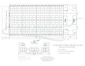 11-1 JWB 55 - S2 + 14x3-4-3 + Lav doors - drawing