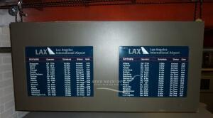 Flight Info Board, Hanging