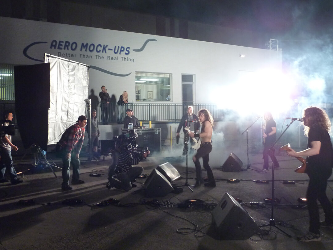 Airbourne Music Video Shoot @ AMU