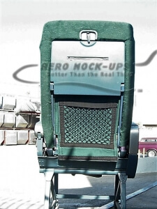 21-1-2 Recaro, single - Green - Back