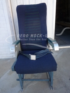 21-1-P-1 CC Recaro - Single Port - Blue Front