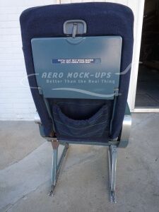 21-1-P-1 CC Recaro - Single Port - Blue, back