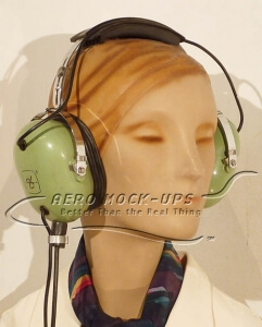 31-13 Headset, ground crew - Green