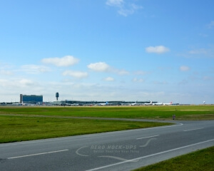 31-9 Back drop - YVR, Airfield & Terminal w