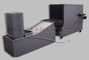 Xray Machine - Wood Mockup