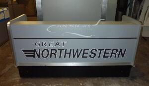 Ticket Counter - gray, Great Northwestern