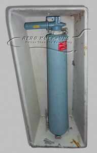 33-14 Panel, Insert - Halon Extinguisher