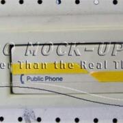 34-97 Phone, Passenger - Wall mount, GTE tn