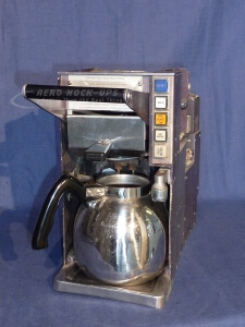 35-2 Coffee maker, 1 spout - 5 push switch