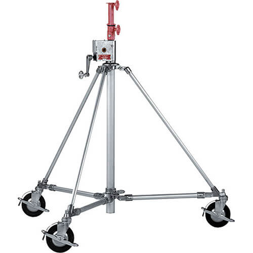 Mole-Richardson Folding Crank-up Litewate Stand