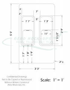 747-200 Wall Panel diagram