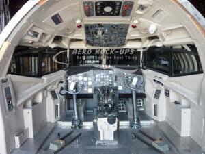 13-4 DC9 Cockpit less seats