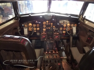 13-4 DC9 lit instrument panel