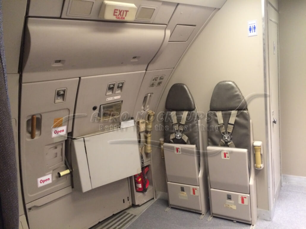 14-16 Door closed with AI jumpseats
