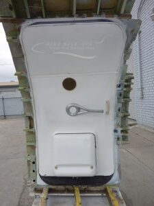 14-30 Door, 737 L1 & Frame - Interior closed
