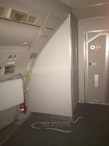 14-16 Door, Main entry, Lav and Cockpit doors
