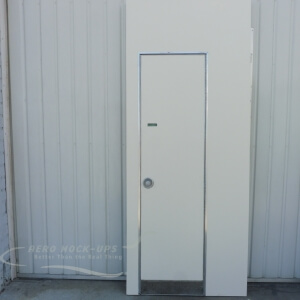 14-29R - Lavatory Door & wall - Right