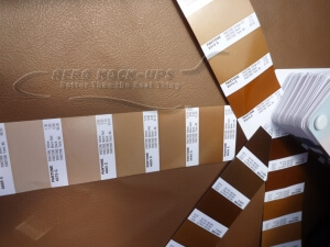 23-3-x-2 Tombo - Brown vinyl Pantone number