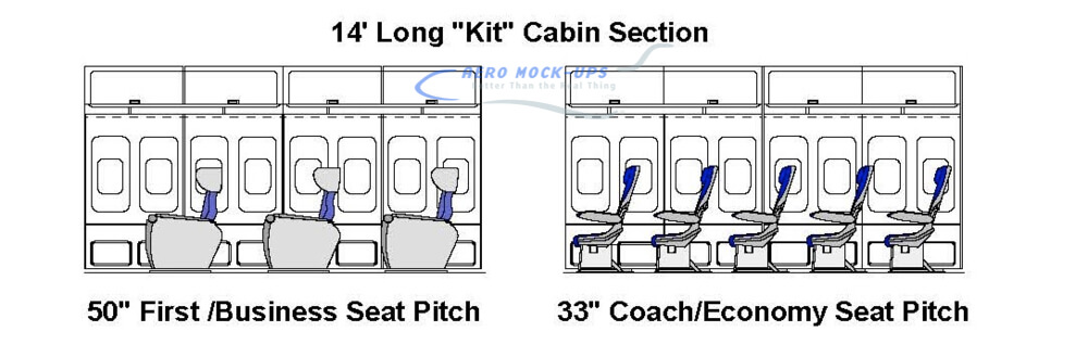 14 Kit - 5 Rows KLM Coach Class - 3 Rows KLM Business Class_5.28.19