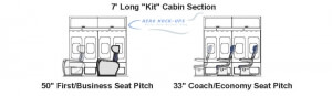 7 Kit - 2 Rows KLM Coach Class - 1 Row KLM Business-First Class_5.28.19