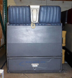 26-6 FA Jump seat - NW Double, Front closed