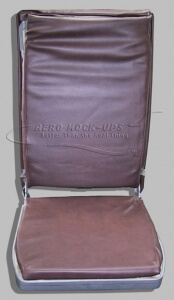 26-7 wall-mounted FA seat, extended, front