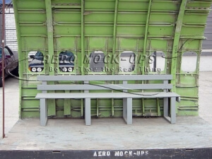 29-4 Bench seat in Cargo set, front