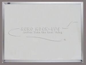 32-148 - Sign - White board