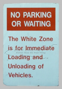 32-201 No Parking Or Waiting