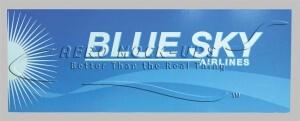 32-224 - Sign - Blue Sky