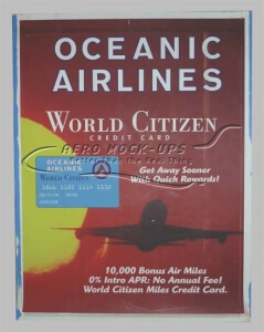 32-259 Print - Oceanic Airlines, World Citizen lf