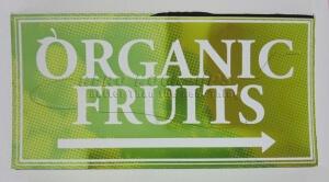 32-44 Organic fruits