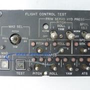 33-42 Panel, Ctrl - Flight Control Test