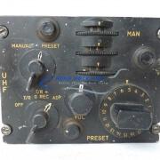 33-53 Panel, Ctrl - UHF tuner - A