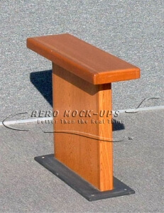 34-104 Table, Side - Small rectangle