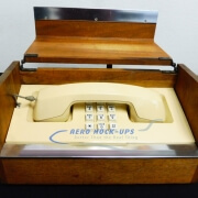 34-106 Phone, Executive - in wood box
