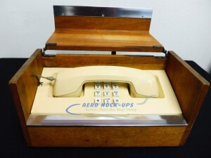 34-106 Phone, Executive - in wood box