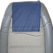 34-6 Antimacassar - Cloth, Navy - Loop Velcro