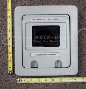 34-98 Monitor, Seat Back