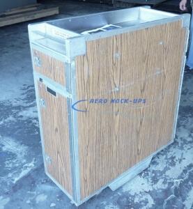 35-25 Cart, Service - 4 doors, Wood grain