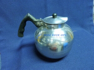 35-29 Coffee pot - Black handle & lid