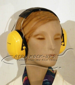 31-11 Earmuff - Yellow